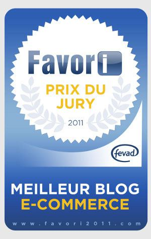 Meilleur blog E-commerce 2011 Fevad