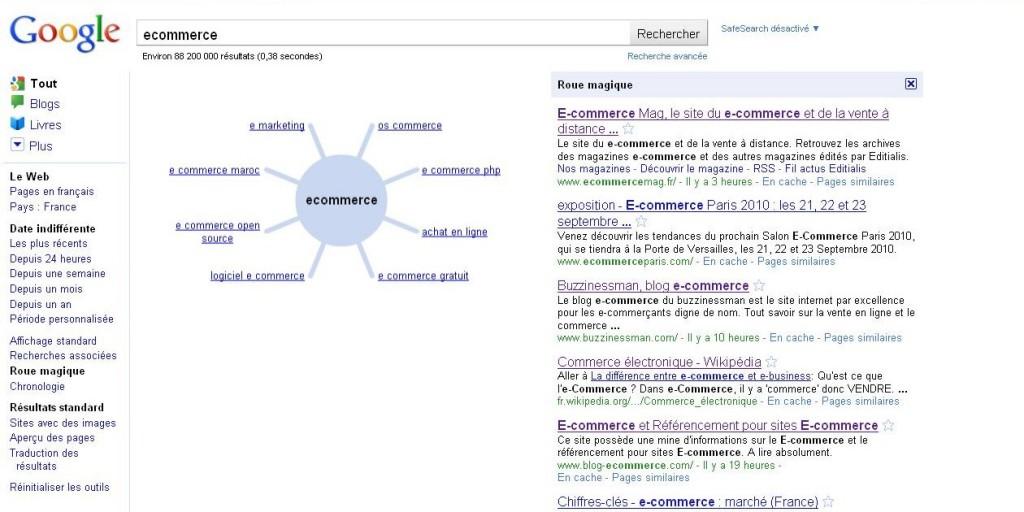 """ecommerce Recherche Google 1273244348858 e1273244764605 1024x512 - Avez vous testé la """"Roue magique"""" de Google ?"""