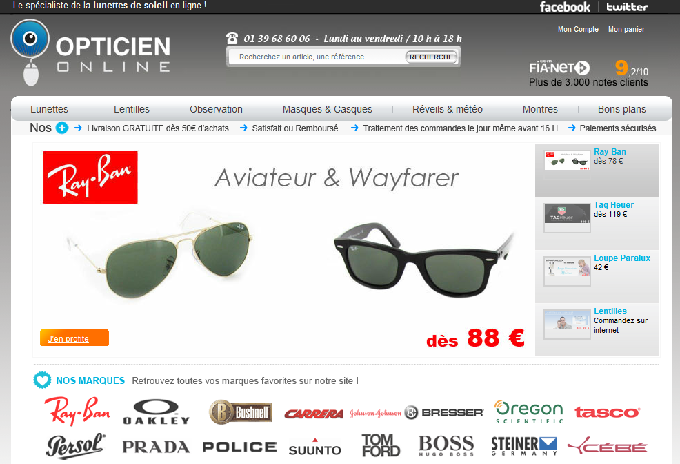 homepage opticien online - Interview de Louis Alexandre Tachon, fondateur d'opticien-online
