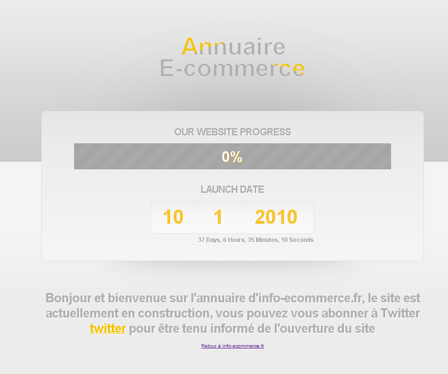 Annuaire E-commerce