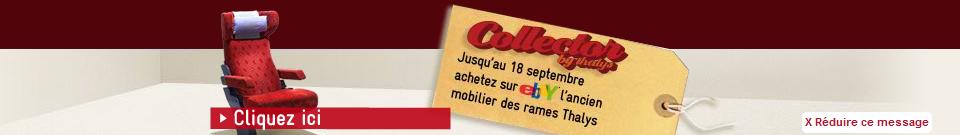 bandeau thalys - Le Thalys est en vente sur Ebay