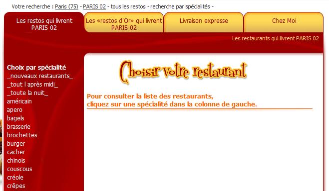 resultats des retaurants - Mon avis sur Alloresto.fr