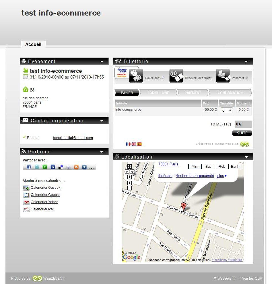 Billetterie test info ecommerce 12880885390451 - Weezevent, la billetterie 2.0