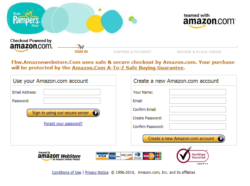 amazon-pampers-login