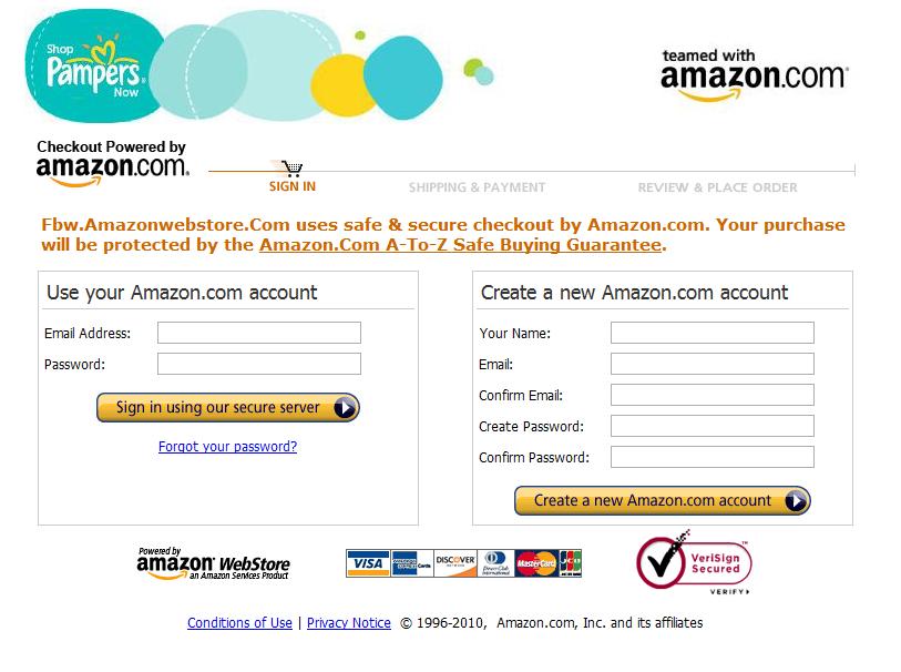 amazon pampers login - Facebook et Amazon : le début d'un nouveau web ?