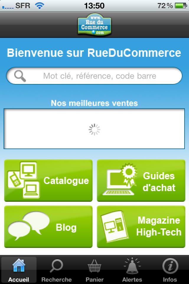 iphone 009 - Test de l'application Iphone Rueducommerce