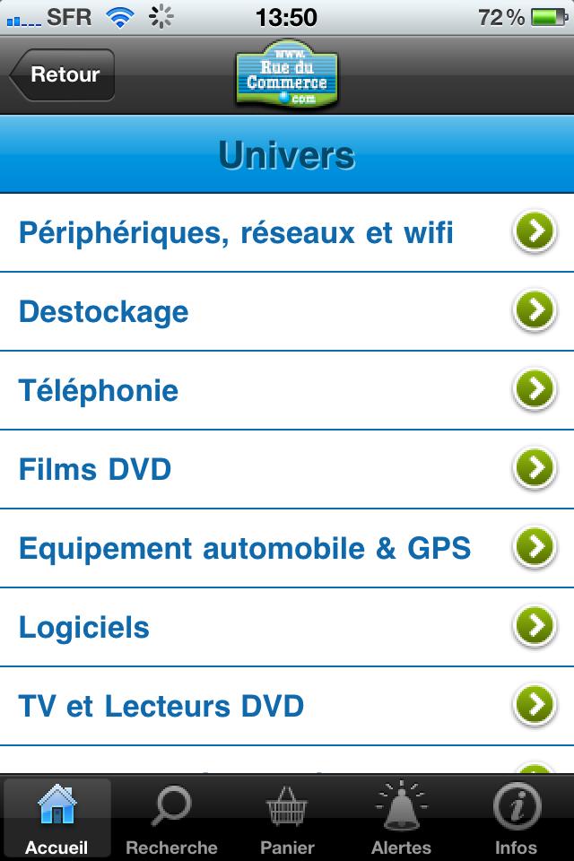 iphone 010 - Test de l'application Iphone Rueducommerce