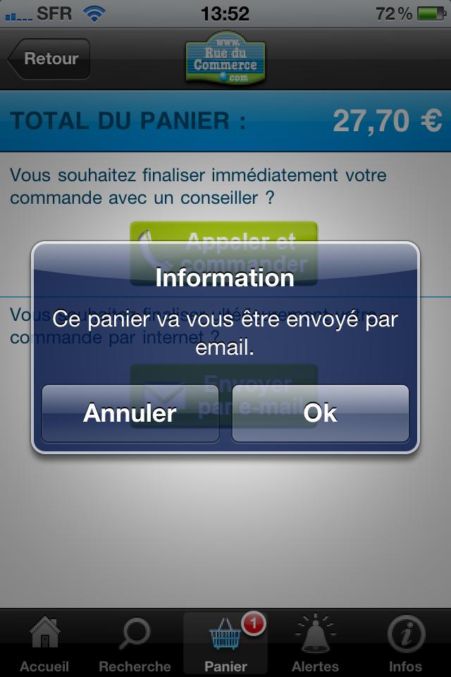 iphone 020 - Test de l'application Iphone Rueducommerce