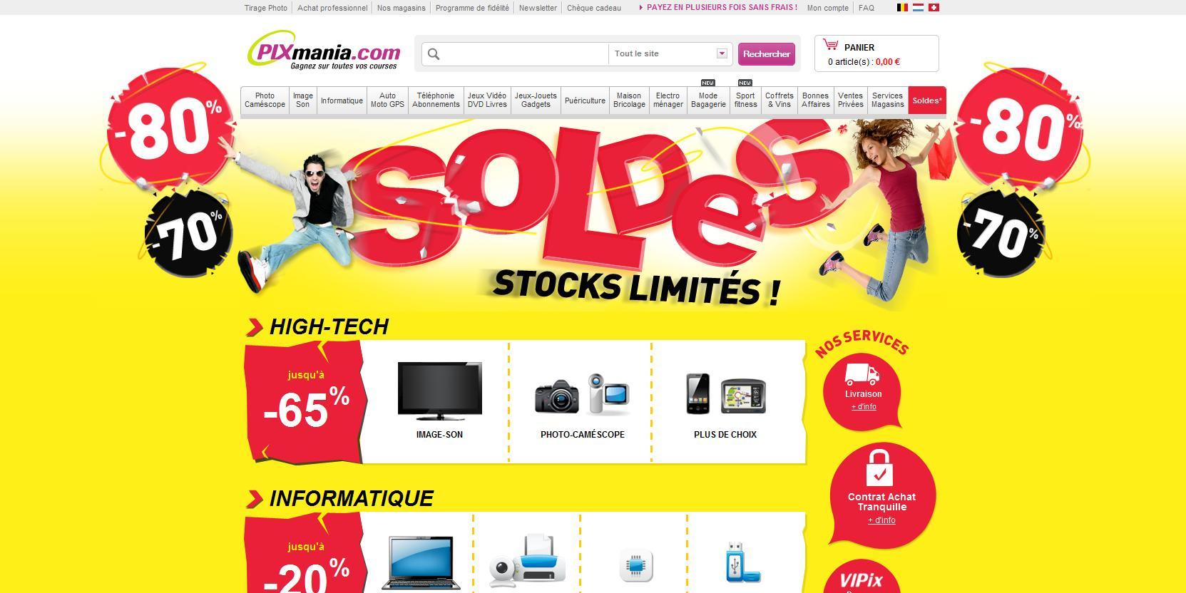 homepage-pixmania-soldes