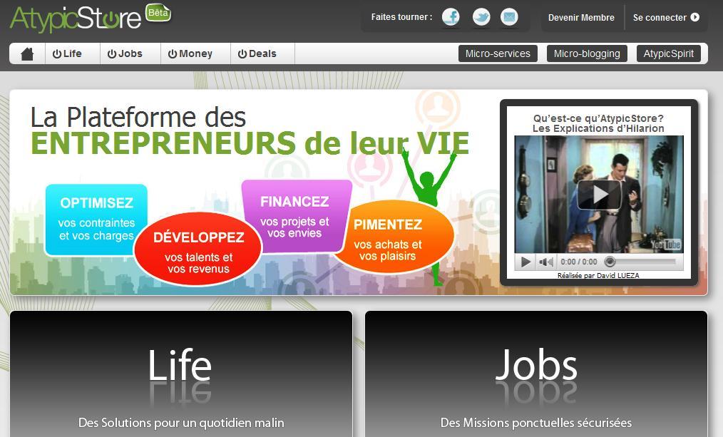 AtypicStore 1297331930910 - Atypic Store, une boutique de e-services pour les indépendants