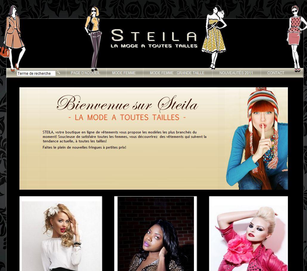 homepage steila - 7 boutiques tournant sur Box E-commerce de la Poste