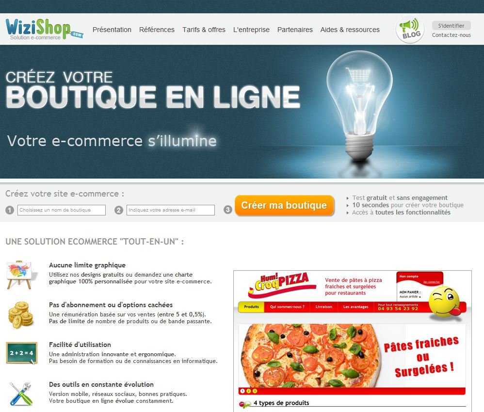 wizishop-homepage