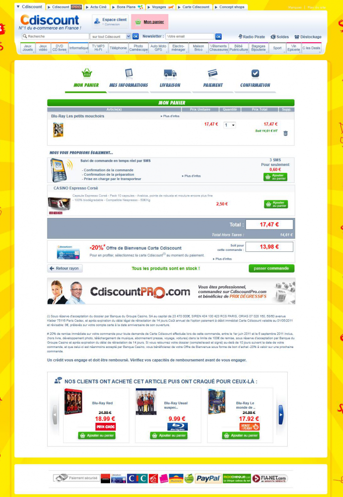 page-panier-cdiscount