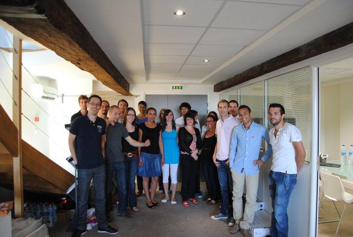 equipe lengow - Lengow passe la seconde et lève 1.2 millions d'euros