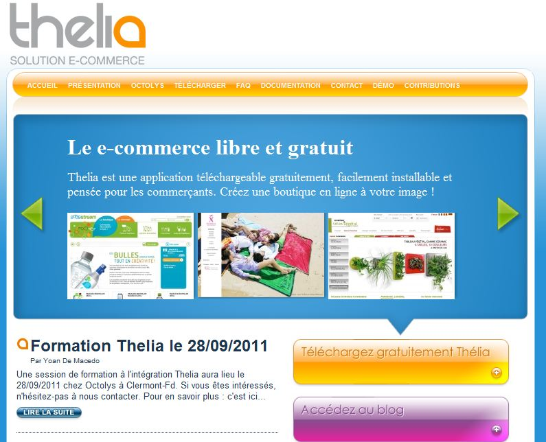 homepage thelia - Interview de Yoan De Macedo, fondateur de  la solution Thélia