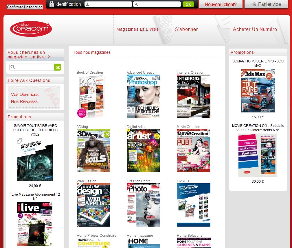 homepage oracom - Oracom recrute un spécialiste e-commerce