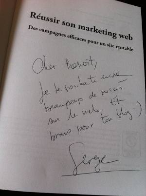 535 - Réussir son marketing web, le livre de Serge Roukine