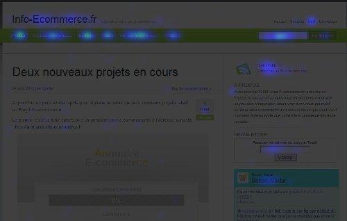 heatmap ecommerce - 5 solutions de web analytics pour votre Ecommerce