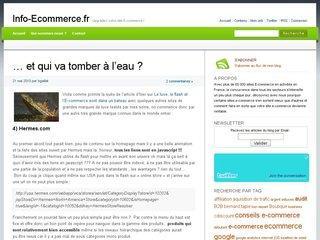 infoecommerce 7527 - Rétrospective des articles les plus consultés sur 2011
