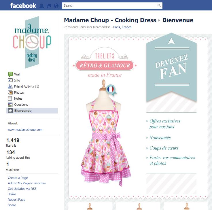 Madame Choup Facebook