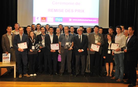 laureats trophees economie numerique 2011 - 10ème édition des Trophées de l'Économie Numérique