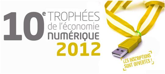 ten2012 - 10ème édition des Trophées de l'Économie Numérique