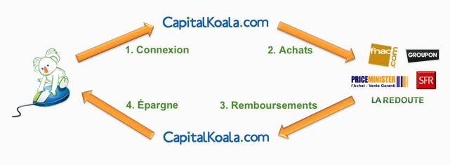 fonctionnement de capital Koala
