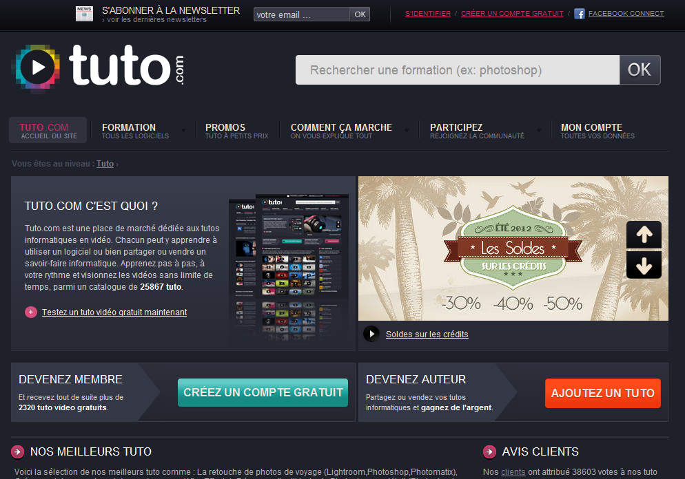 TUTO . com Tuto Photoshop Flash After Effects Indesign - Tuto.com Interview de Nicolas Chaunu