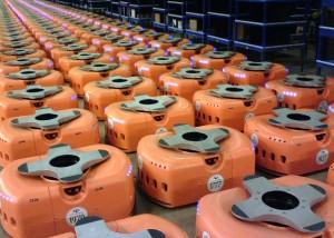 les robots kiva systems 300x214 - Kiva Systems, l'entrepôt du futur ?