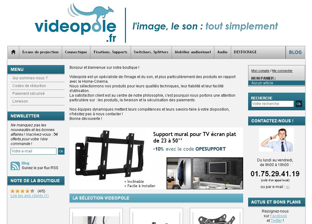 homepage videopole - Interview de Pierre Bardot de Videopole.fr