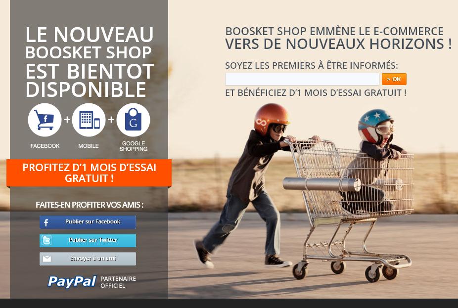 Teasing boosket - Boosket et le social commerce multicanal