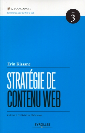 livre strategie de contenu web - Stratégie de contenu Web, le livre