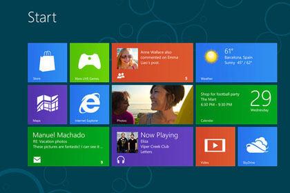 Windows 8 screen1 - E-commerce : et pourquoi pas une home page à la sauce Windows 8 ?