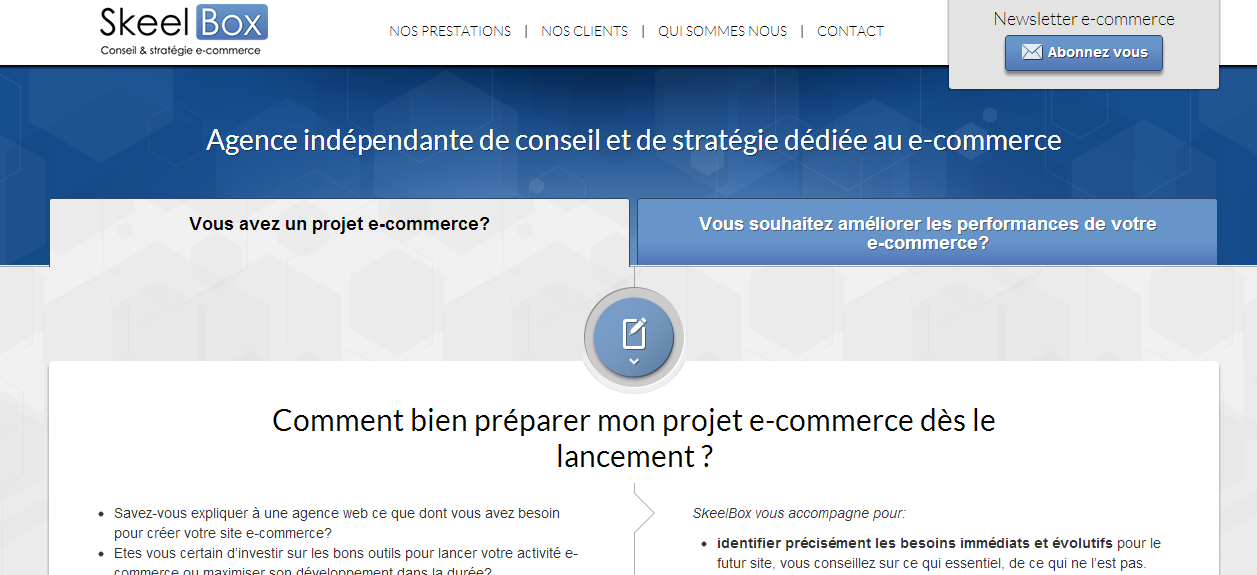 Skeelbox page - Skeelbox : une nouvelle aventure commence