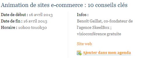 Animation de sites e commerce   10 conseils clés   Ecommerce Live.net   Visioconférences