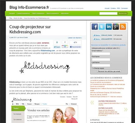 blog info ecommerce - Info-ecommerce V3, les premières news