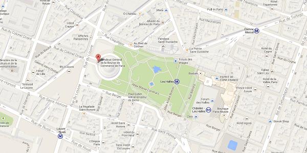 bourse de commerce paris Google Maps - Forum E-Export 2013 : Commerce international en ligne