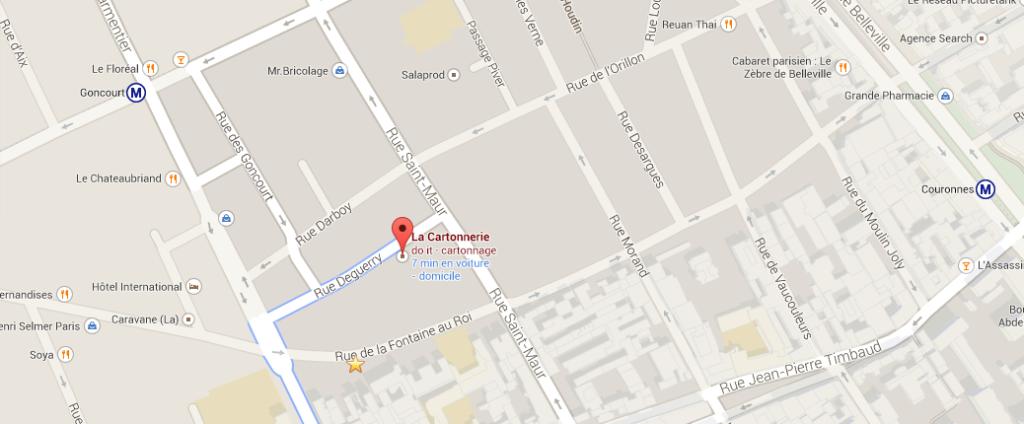 """La Cartonnerie Google Maps 1024x424 - Apérotech spécial """"PIM"""" (product information management) à la Cartonnerie"""