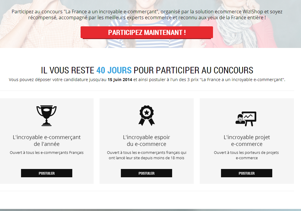 Concours La France a un Incroyable Ecommerçant - Concours E-commerce : La France a un Incroyable Ecommerçant