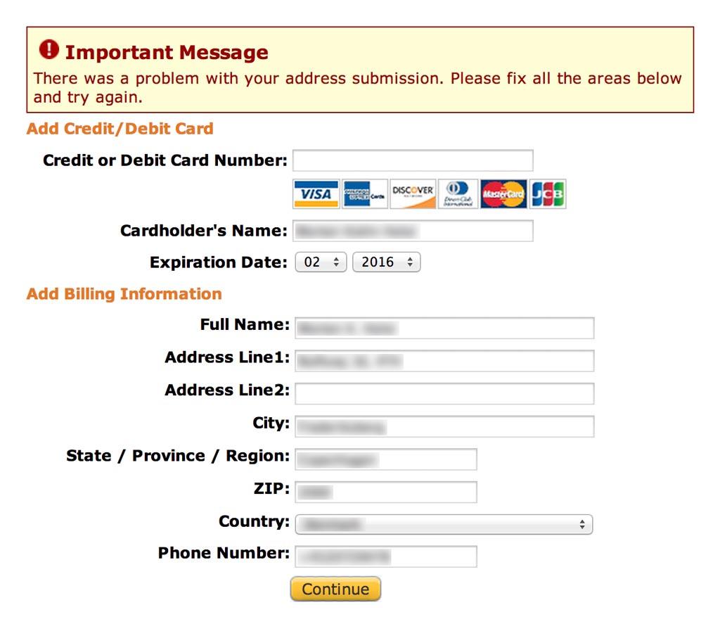 bugs and usability 01 amazon 47a4c55f23663d5188dc90f4e299d0641 - Les éléments à ne pas oublier dans un cahier des charges e-commerce