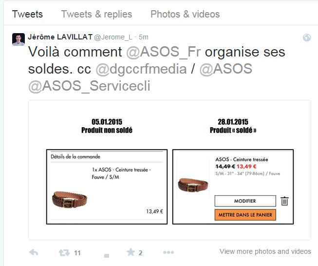 Jérôme LAVILLAT Jerome L Twitter - Vendeurs Marketplace Cdiscount, attentions aux petits arrangements avec les soldes