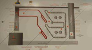 Le plan des installations