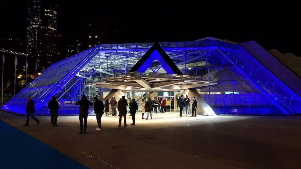 Le forum Grimaldi à Monaco