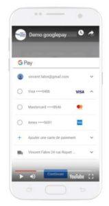 Google Pay avec PayZen