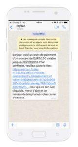 Whatsapp et PayZen